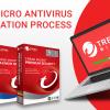 Trend Micro Antivirus Installation Process