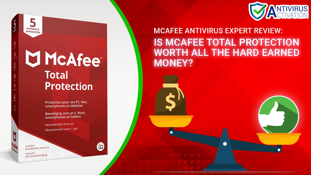 McAfee Antivirus Expert Review